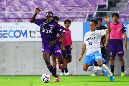 Editorial photo of Kyoto Sanga FC v Jubilo Iwata, J2 League, Kyoto, Japan - 30 Jun 2020