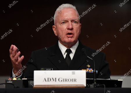 Admiral Brett Giroir, United States Assistant Secretary for Health, testifies before the US Senate Health, Education, Labor and Pensions (HELP) Committee, during a hearing on Capitol Hill in Washington DC. Government health officials updated the Senate on how to safely get back to school and the workplace during the COVID-19 pandemic.
