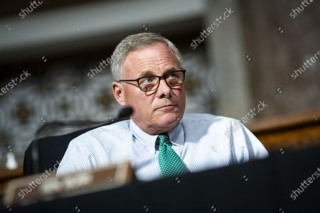 Senator Richard Burr, a Republican from North Carolina, listens during a Senate Health, Education, Labor and Pensions Committee hearing in Washington, DC, USA, 30 June 2020. Top federal health officials are expected to discuss efforts to get back to work and school during the coronavirus disease (COVID-19) pandemic.