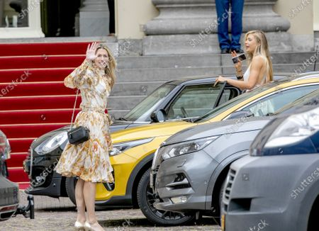 Stock Photo of Estavana Polman and Jutta Leerdam leaving the Noordeinde Palace.