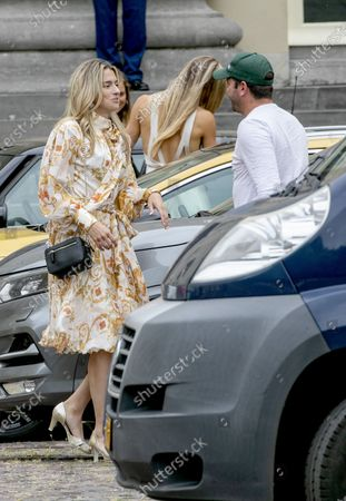 Estavana Polman leaving the Noordeinde Palace.