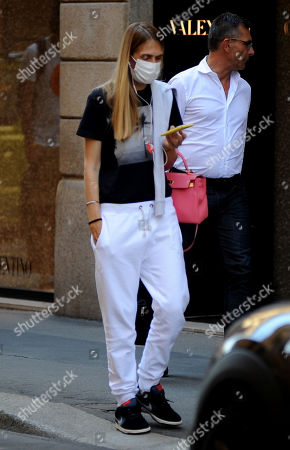 Editorial photo of Lavinia Borromeo out and about, Milan, Italy - 30 Jun 2020