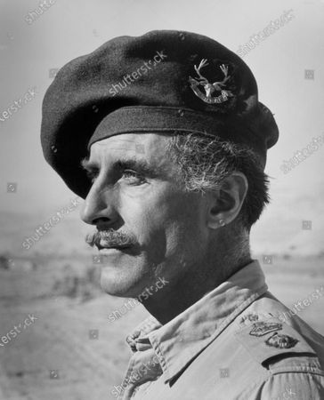 """Nigel Green, Publicity Portrait for the Film, """"Tobruk"""", Universal Pictures, 1967"""