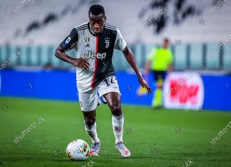 Blaise Matuidi of Juventus during the Serie A 2019/20 match between Juventus vs US Lecce at the Allianz Stadium