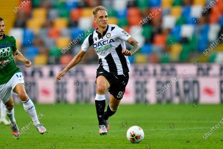 Lukasz Teodorczyk (Udinese Calcio) during Udinese vs Atalanta, italian Serie A soccer match