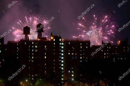 Editorial picture of Macy's 4th of July fireworks display, New York, USA - 30 Jun 2020, USA