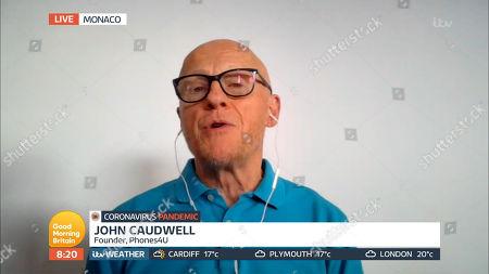 Stock Image of John Caudwell