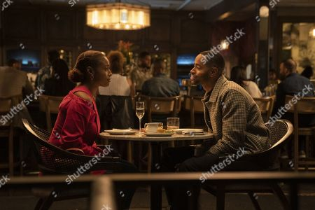 Issa Rae as Issa Dee and Jay Ellis as Lawrence Walker