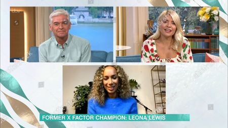Phillip Schofield, Holly Willoughby and Leona Lewis