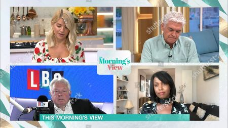 Holly Willoughby, Phillip Schofield, Nick Ferrari and Michelle Gayle