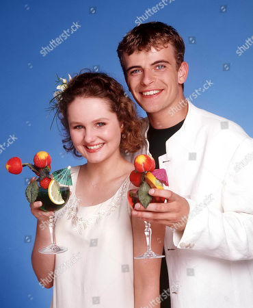 Steve McDonald, as played by Simon Gregson, and Vicky Arden as played by Chloe Newsome, wedding.