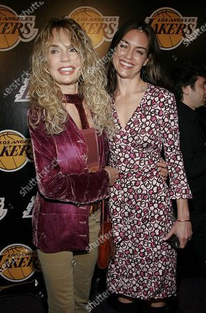 Dyan Cannon with daughter, Jennifer Grant at the LA Lakers 2nd Annual Las Vegas Casino Night Celebrity Poker Challenge to benefit LA Lakers Youth Foundation at Barker Hangar in Santa Monica, CA