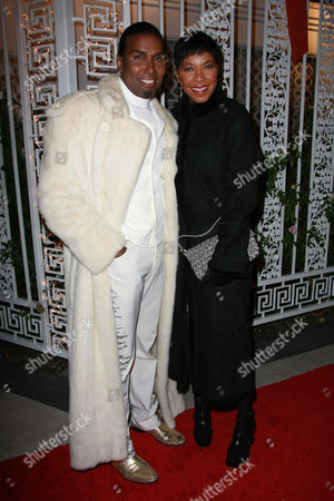 Norwood Young and Natalie Cole