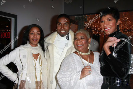 Editorial photo of Norwood Young's Annual White Christmas Party, Los Angeles, America - 22 Dec 2009