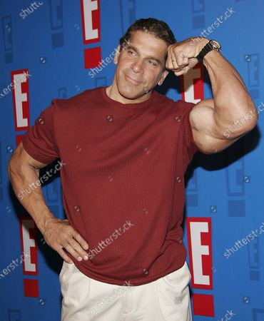 Lou Ferrigno arrives at E! Entertainment Television's Summer Splash Event at Amanda Scheer Demme's Tropicana Bar at the Roosevelt Hotel in Hollywood, CA