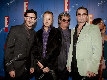 INXS arrives at E! Entertainment Television's Summer Splash Event at Amanda Scheer Demme's Tropicana Bar at the Roosevelt Hotel in Hollywood, CA