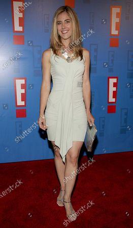 Elizabeth Jarosz arrives at E! Entertainment Television's Summer Splash Event at Amanda Scheer Demme's Tropicana Bar at the Roosevelt Hotel in Hollywood, CA
