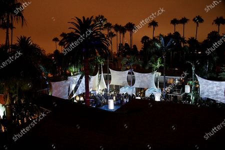 E! Entertainment Television's Summer Splash Event at Amanda Scheer Demme's Tropicana Bar at the Roosevelt Hotel in Hollywood, CA