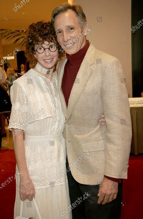 Kim Darby and Johnny Crawford arrive at The 23rd Annual Golden Boot Awards Ceremony presented by The Motion Picture & Television Fund held at the Beverly Hilton Hotel in Beverly Hills, CA