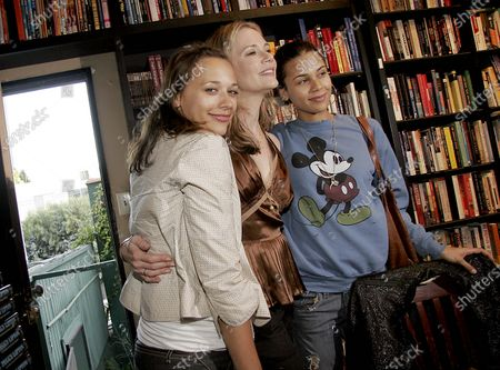 Rashida Jones, Peggy Lipton and Kidada Jones of The Mod Squad and Alias at a Book Signing for Peggy's new autobiography Breathing Out held at Book Soup in West Hollywood, CA