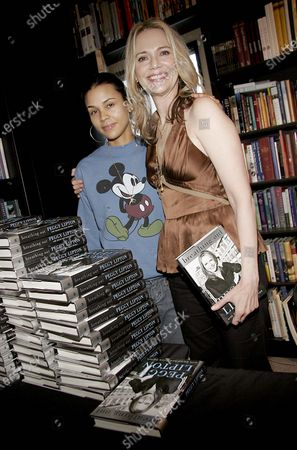 Kidada Jones and her Mother, Peggy Lipton of The Mod Squad and Alias at a Book Signing for Peggy's new autobiography Breathing Out held at Book Soup in West Hollywood, CA