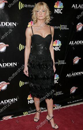 Jamie Pressly at the 2005 Radio Music Awards at the Aladdin Hotel in Las Vegas, Nevada