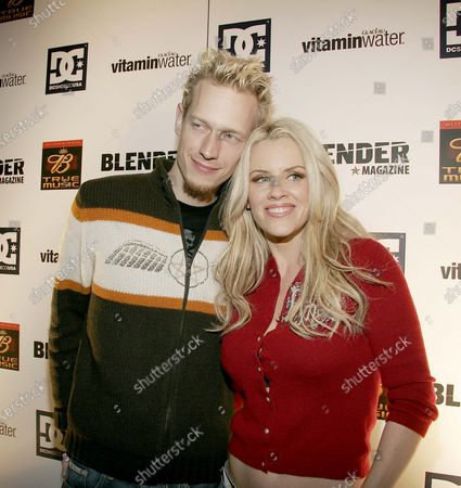 Jenny McCarthy with husband, John Asher at Sundance 2005 - Day 1 Blender Sessions at Harry O's in Park City, Utah