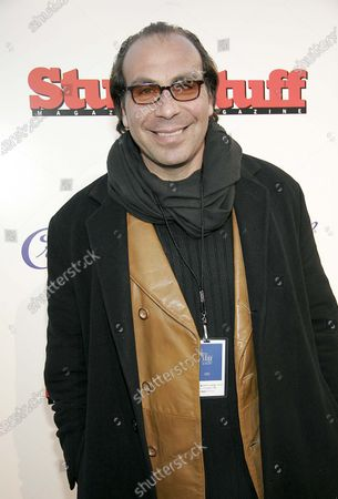 Taylor Negron at the 2005 Sundance Film Festival Stuff Magazine's Sippin At Sunset Party at the Crown Royal Lodge in Park City, Utah
