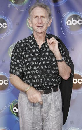 Rene Auberjonois of Boston Legal attends the 2005 ABC Television Network Hosts Annual Summer Press Party Tour at The Abby in West Hollywood, CA