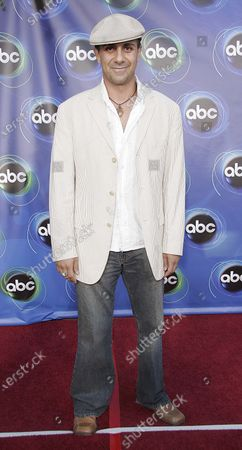 Anthony Azizi of Commander In Chief attends the 2005 ABC Television Network Hosts Annual Summer Press Party Tour at The Abby in West Hollywood, CA