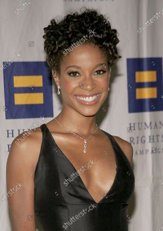 American Idol Runner-Up, Tamyra Gray arriving at the Human Rights Campaign Annual Gala where Janet Jackson will Receive an Humanitarian Award held at the Beverly Hilton Hotel in Beverly Hills, CA