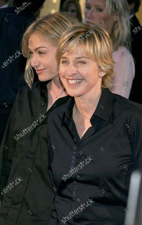 Portia di Rossi and Ellen DeGeneres at the Cartier of Beverly Hills Celebrates 25 Years with the renovation and grand opening of the Rodeo Drive Boutique in Beverly Hills, CA