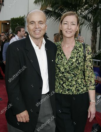 Clint Howard with wife at the Cinderella Man World Premiere at The Gibson Amphitheatre at Universal City Walk in Universal City, CA