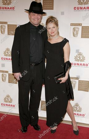 MIcky Dolenza and daughter, Amy Dolenz arrive to The 2005 BAFTA Awards at The Beverly Hilton Hotel in Beverly Hills, CA