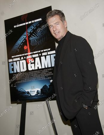 Jack Scalia at the End Game World Premiere held at The Linwood Dunn Theatre Academy of Motion Picture Arts and Sciences in Hollywood, CA