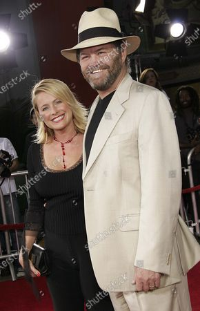 Amy Dolenz and Micky Dolenz arrive at the Just Like Heaven Los Angeles Premiere at the Mann Grauman's Chinese Theater on Hollywood Boulevard in Los Angeles, CA