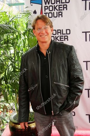"Chris Rich from the tv show ""Reba"" arrives at the World Poker Tour Invitational celebrity poker match at the Commerce Casino in Commerce, CA."