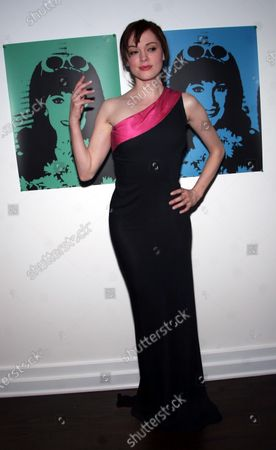 Rose McGowan at the launch of a clothing collection by Marilyn Lewis--legendary resteraunteur and author, now fashion designer--at Decades, a boutique, in West Hollywood, CA.