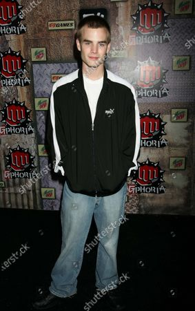 """David Gallagher, from the hit tv show """"7th Heaven"""", arriving at the 3rd Annual """"G-PHORIA""""--The Mother of All Videogame Awards Shows--hosted by """"That '70s Show"""" star Wilmer Valderrama, and including a performance by the hip-hop phenomenon The Black Eyed Peas, at Los Angeles Center Studios in Los Angeles, CA."""