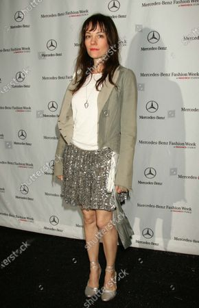 Stock Photo of Natasha Wagner at a runway show and party for Mercedes-Benz Fashion Week in L.A. at Smashbox Studios in Culver City, CA.