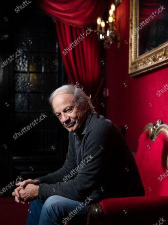 Editorial picture of Patrick Chesnais, Theatre des Bouffes-Parisiens, Paris, France - 05 Feb 2020
