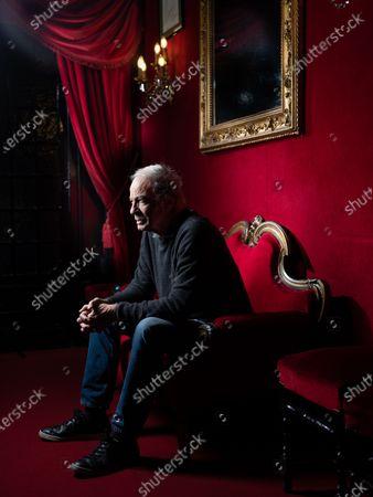 Editorial image of Patrick Chesnais, Theatre des Bouffes-Parisiens, Paris, France - 05 Feb 2020