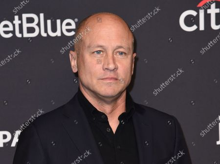 """Mike Judge arrives at a screening for """"Silicon Valley"""" during the 35th annual PaleyFest in Los Angeles on . Comedy Central announced an expansive deal with Judge to reimagine MTV's 1990s animated series """"Beavis and Butt-Head,"""" as well as additional spin-offs and specials"""