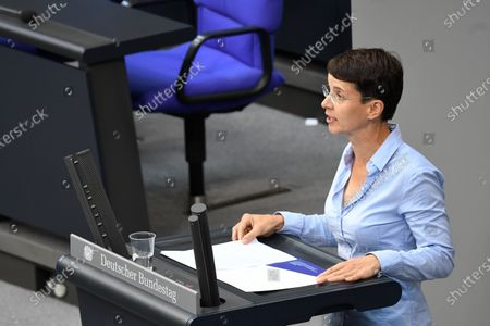 Editorial image of Plenary session at the Bundestag, Berlin, Germany - 01 Jul 2020