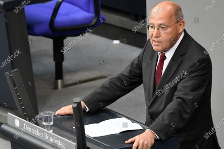 Editorial photo of Plenary session at the Bundestag, Berlin, Germany - 01 Jul 2020