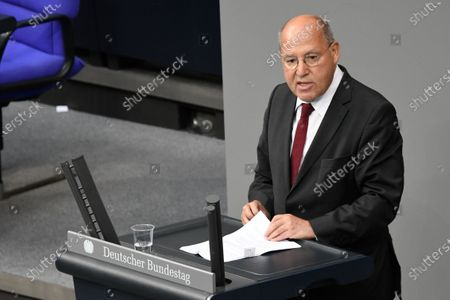 Editorial picture of Plenary session at the Bundestag, Berlin, Germany - 01 Jul 2020