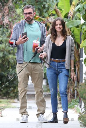 Ben Affleck and Ana De Armas out and about, Los Angeles