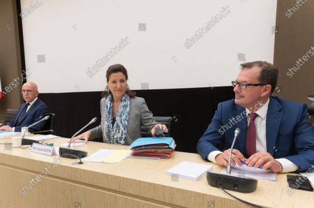 Stock Image of Erci Ciotti, Agnes Buzyn and Raymond Le Moign