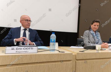 Editorial image of Parliament Commission investigating coronavirus crisis response, French National Assembly, Paris, France - 30 Jun 2020
