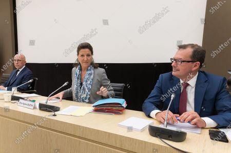 Stock Photo of Erci Ciotti, Agnes Buzyn and Raymond Le Moign